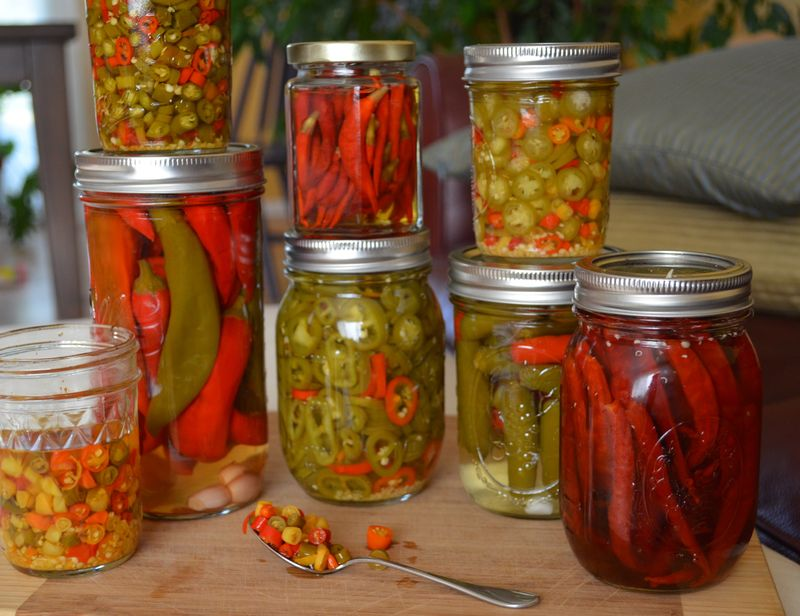Pickled Chiles